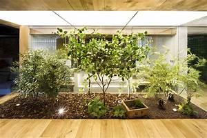Indoor Garden, Loft Style Home in Terrassa, Spain