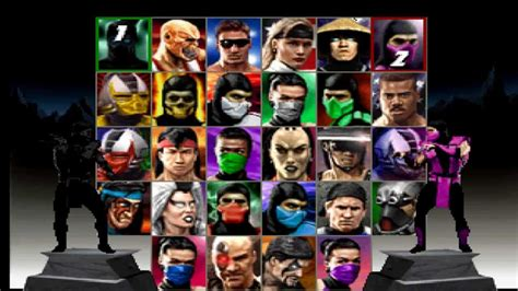 Mortal Kombat Trilogy N64 Character Select Theme Youtube