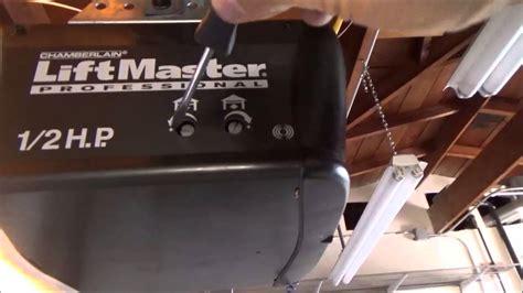 Garage Door Adjustment by Stanley Garage Door Opener D1000 Manual