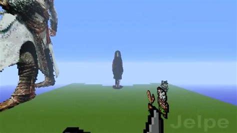 minecraft pixel art  jelpe alma wade  fear