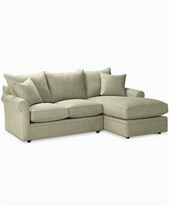 doss 2 piece fabric microfiber sectional with chaise With macys sectional sofa microfiber