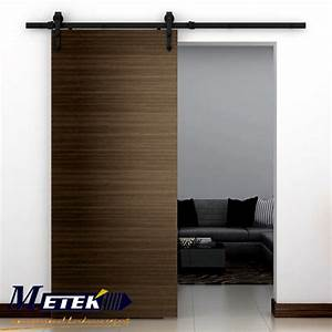 modern interior iron barn door hardware sliding door With cost of interior barn doors