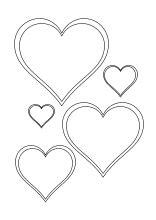 Auf dieser seite findet ihr mehrere sterne zum ausdrucken. Herz Muster Ausmalen