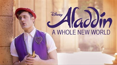 A Whole New World Disney's Aladdin Music Video Nick