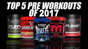 5 Best Pre Workout Supplements In India -2017