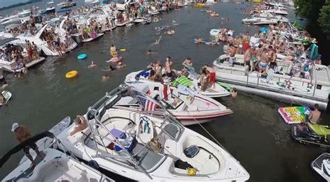 total frat move    july party  lake minnetonka  filmed   gopro helicopter