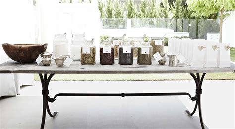 Wedding Tea Leaf Bar