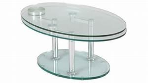 Table Basse Verre Design : table basse verre salon accueil design et mobilier ~ Teatrodelosmanantiales.com Idées de Décoration