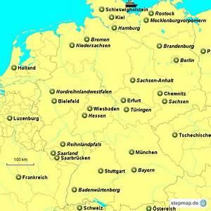 Schönsten Städte Deutschland : bundesl nder und die st dte von deutschland von anne23 landkarte f r deutschland ~ Frokenaadalensverden.com Haus und Dekorationen