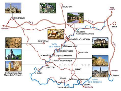 Carte Des Grottes Préhistoriques En by Tourisme En Dordogne S 233 Jour 224 Montignac Le Lascaux