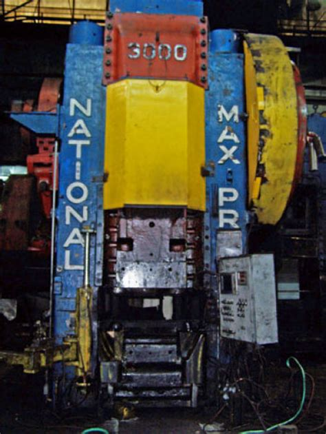 national maxi  ton forging press mechanical