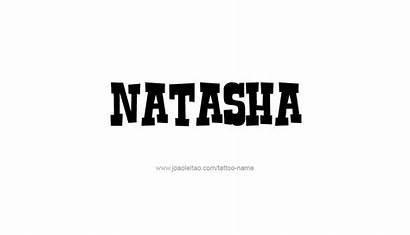 Natasha Tattoo Designs