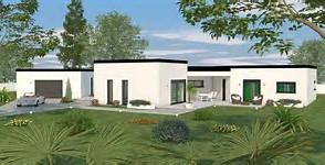 Beautiful Maison Cubique Moderne Plain Pied Gallery - Amazing ...
