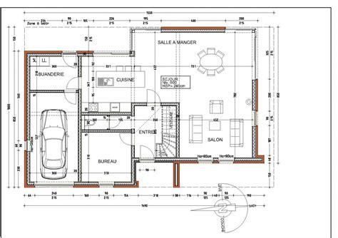 plan maison etage 3 chambres gratuit plan de la maison notre maison au clos des fauvettes