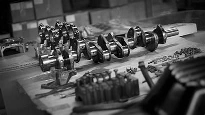 Engine Piston Parts Crankshaft Wallpapers Rod Spare