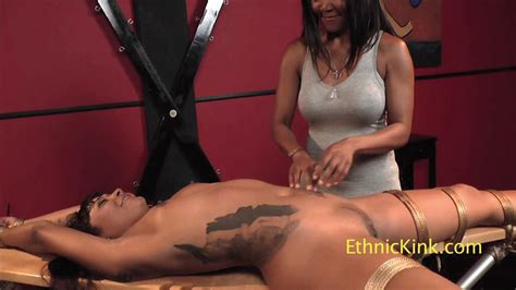 Tickled Ebony And Latina Ladies