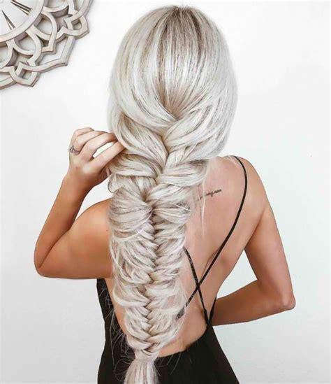 stunning fishtail braid inspirations   romantic