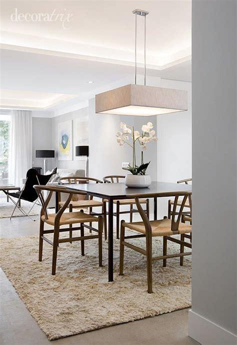 iluminar el comedor home design lamparas techo