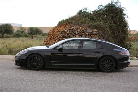 porsche panamera 2016 black 2016 porsche panamera prototype spied will get all new v8