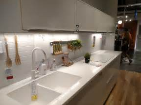easy to clean kitchen backsplash the curious of ikea s invisible kitchen sink