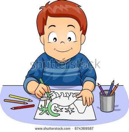 boy coloring clipart lorelyn medina s portfolio on