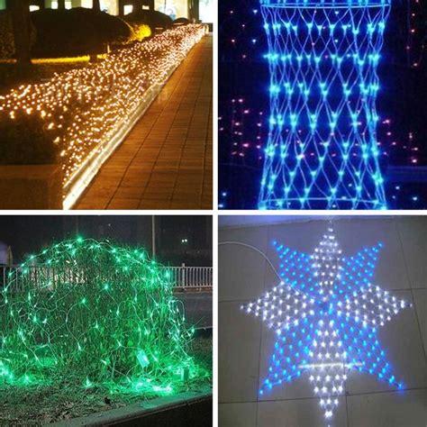 garden decoration waterproof net christmas lights led net
