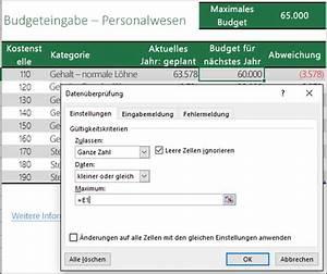 Basis Einer Matrix Online Berechnen : anwenden von daten berpr fung auf zellen office support ~ Themetempest.com Abrechnung