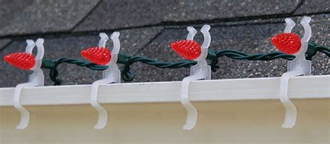 roof line christmas clips light chart