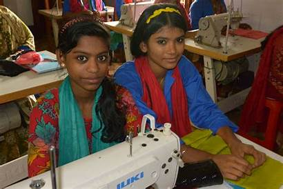 Saskia Suf Sewing Class Rickshaws Dhaka Million