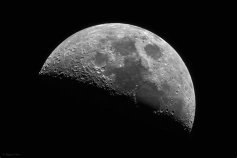 The First Quarter Moon @ Astrophotography By Miguel Claro
