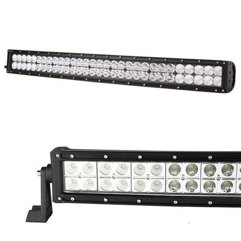 brite led light bar 20in 120w curved driving combo 4wd road truck led