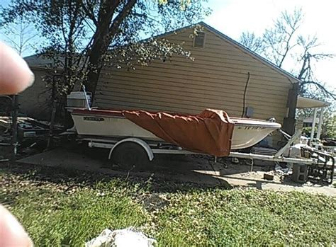 Fishing Boat Motor And Trailer by Mercury Sears Fishing Boat With Trailer And Motor 1961