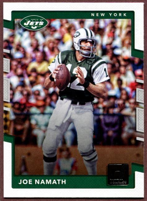 2017 Donruss New York Jets NFL Football Card Team Set