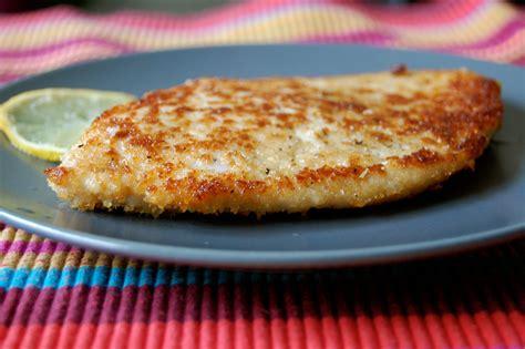 plat cuisiné weight watchers escalope de dinde panée et citronnée d aimée le de