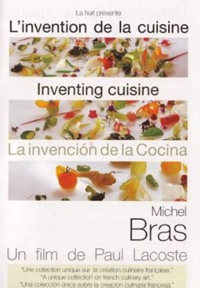 invention cuisine l 39 invention de la cuisine michel bras 2002