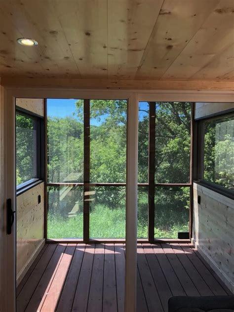 escape model  tiny house  screened  porch