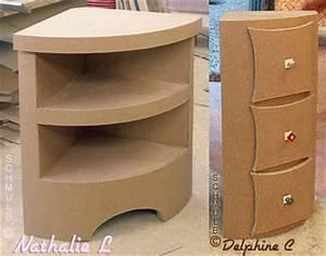 Petit Meuble D Angle : meuble d 39 angle ou meuble de coin construit en carton ~ Preciouscoupons.com Idées de Décoration
