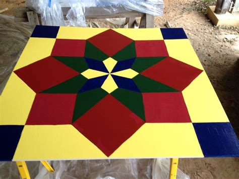 Free Barn Quilt Patterns by How To Paint A Barn Quilt 10 Steps With Pictures Wikihow
