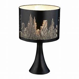 City Scene Touch Lamp
