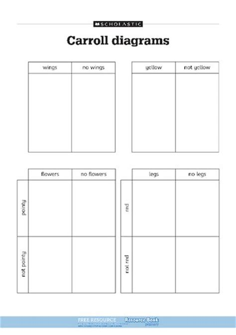Carroll Diagram Ks2 by Carroll Diagrams Free Primary Ks1 Teaching Resource