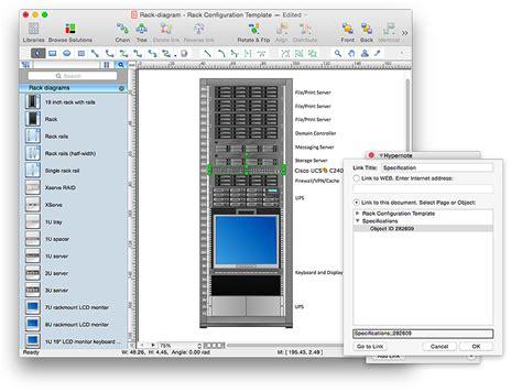 creating a rack diagram conceptdraw helpdesk
