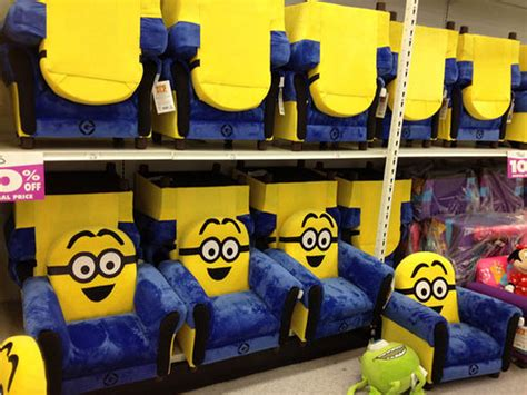 minion chairs spotted these at a babies r us store