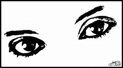 Ojos Colorear Imagenes Dos Narrador Ojo Tipos