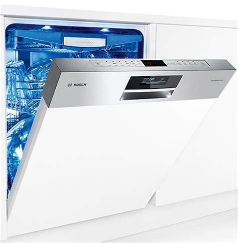 Bosch dishwasher with ActiveWater Eco² Zeolite drying