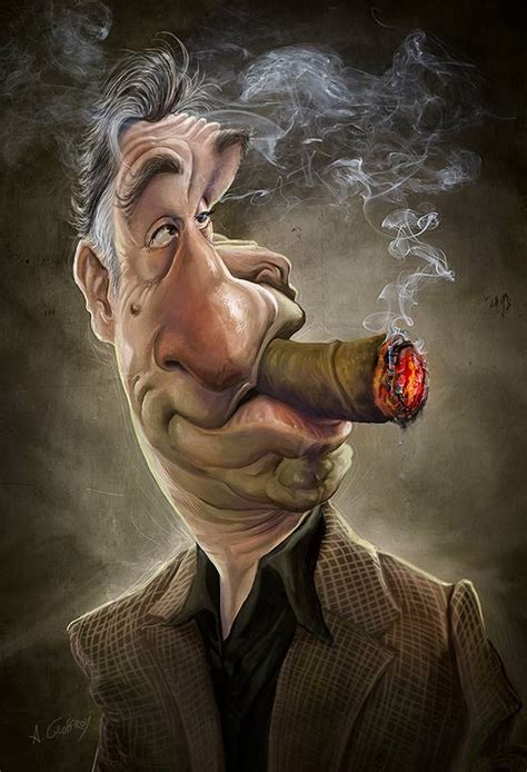 caricatures of by anthony geoffroy