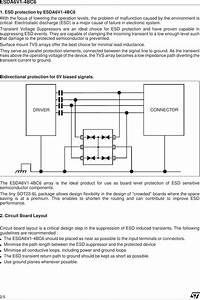 Esda6v1 4bc6 Datasheet   S Manuals Com  St