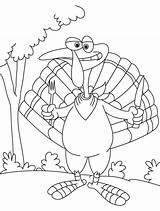 Coloring Turkey Knife Fork Pages Outline Popular Library Clipart Line sketch template