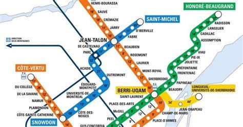 Carte Metro Pdf by Une Carte Tr 232 S Pratique T Indique Le Temps De Marche Entre