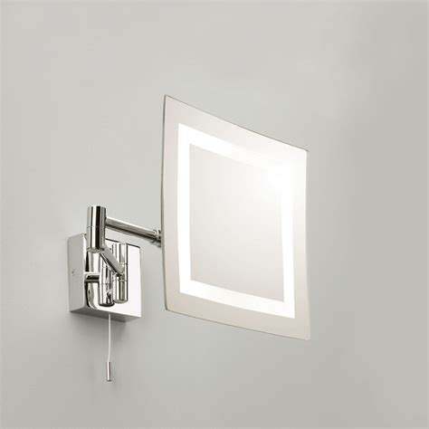 Polished Chrome Bathroom Mirrors by Astro Torino Polished Chrome Bathroom Mirror Light At Uk