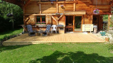realisation d une terrasse en bois nbc bois r 233 alisation d une terrasse en l